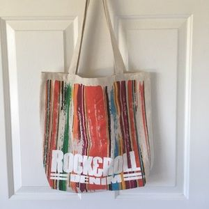 Rock and Roll Denim Tote